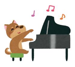 ピアノイメージイラスト