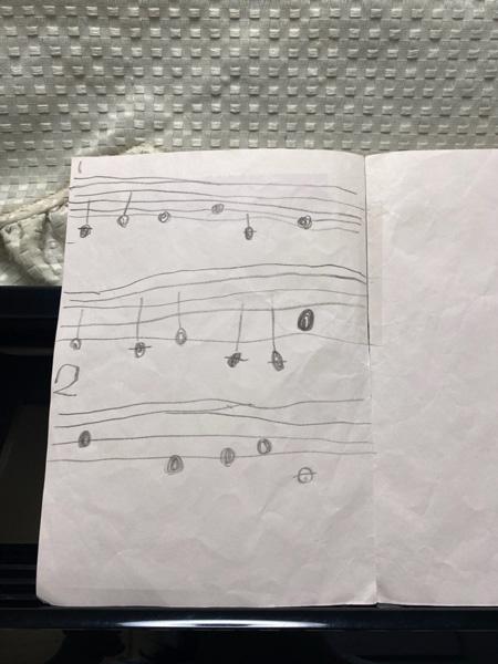 手作り楽譜
